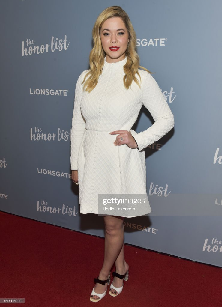 Sasha Pieterse attends a special screening of 'The Honor List' at The London Hotel on May 10, 2018 in West Hollywood, California.