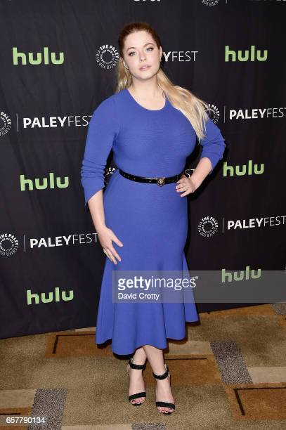 Sasha Pieterse attends PaleyFest Los Angeles 2017 'Pretty Little Liars' at Dolby Theatre on March 25 2017 in Hollywood California