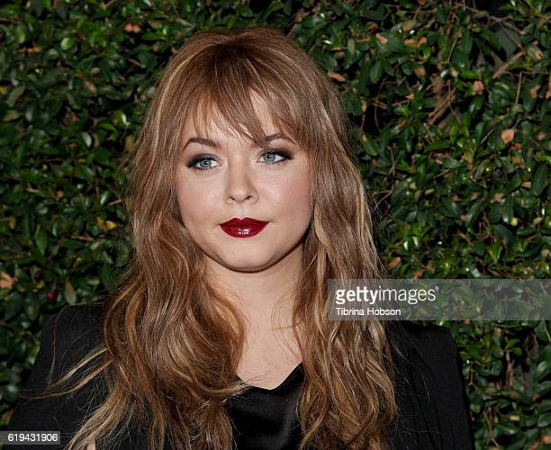 Sasha Pieterse attends the celebration for 'Pretty Little Liars' final season at Siren Studios on October 29 2016 in Hollywood California
