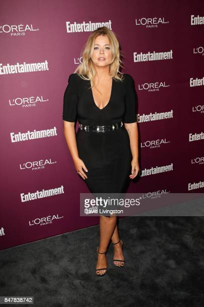 Sasha Pieterse attends the Entertainment Weekly's 2017 PreEmmy Party at the Sunset Tower Hotel on September 15 2017 in West Hollywood California