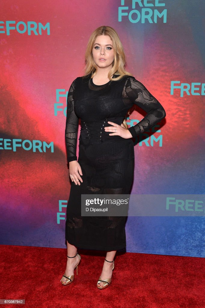 Sasha Pieterse attends the Freeform 2017 Upfront at Hudson Mercantile on April 19, 2017 in New York City.