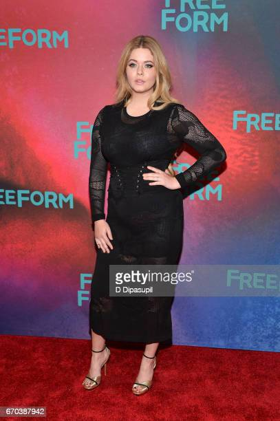 Sasha Pieterse attends the Freeform 2017 Upfront at Hudson Mercantile on April 19 2017 in New York City