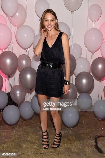 Sasha Pivovarova attends the Jimmy Choo 20th Anniversary Event during New York Fashion Week on September 8 2016 in New York City