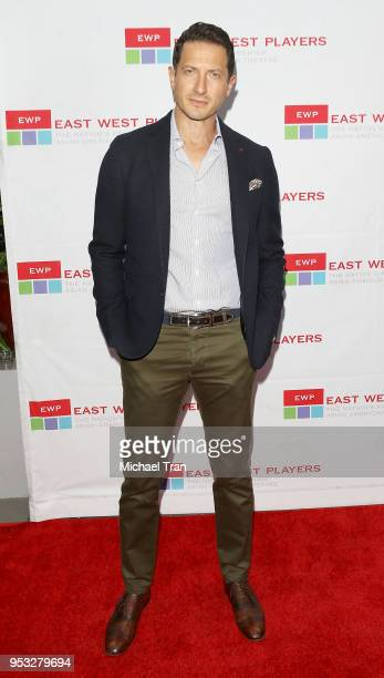 Sasha Roiz attends the East West Players The Company We Keep 52nd Anniversary Visionary Awards Fundraiser Dinner and Silent Auction held at Hilton...