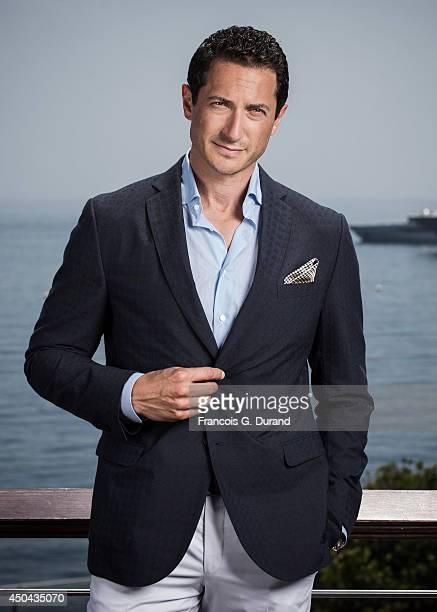 Sasha Roiz poses during a portrait session at Grimaldi Forum on June 10 2014 in Monaco Monaco