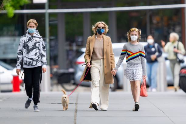 NY: Celebrity Sightings In New York City - May 09, 2021