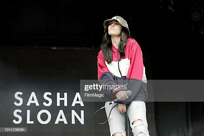 Sasha Sloan performs on the Panhandle Stage during the 2018 Outside Lands Music And Arts Festival at Golden Gate Park on August 10, 2018 in San Francisco, California.