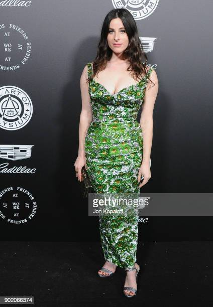 Sasha Spielberg attends The Art Of Elysium's 11th Annual Celebration Heaven at Barker Hangar on January 6 2018 in Santa Monica California
