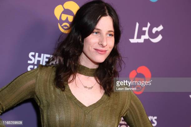 Sasha Spielberg attends the Los Angeles Series Premiere Of IFC's New Variety Sketch Show Sherman's Showcase at The Peppermint Club on July 30 2019 in...
