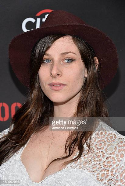Sasha Spielberg of Wardell arrives at the Roc Nation Grammy Brunch 2015 on February 7 2015 in Beverly Hills California