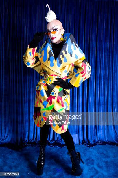 Sasha Velour attends the 4th Annual RuPaul's DragCon at Los Angeles Convention Center on May 11 2018 in Los Angeles California