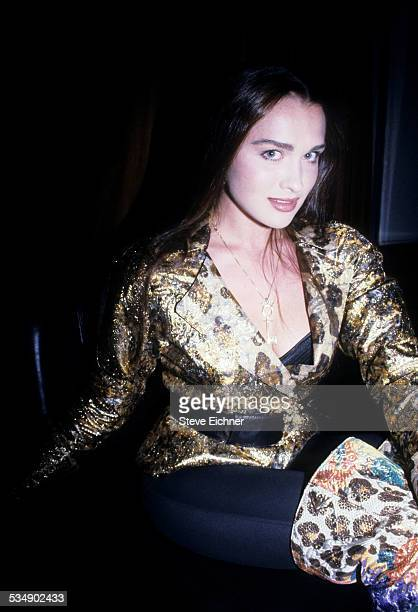 Sasha Vinni at Penthouse Pet of The Year party at Club USA New York February 1994