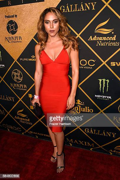 Sasha Wainstein attends the 2016 MAXIM Hot 100 Party at the Hollywood Palladium on July 30 2016 in Los Angeles California