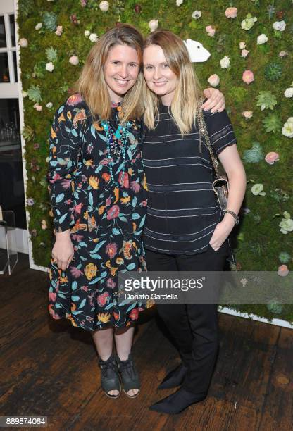 Sasha Walliner and Annabelle Harron at SOREL x The Wall Group Stylist Dinner at The Eveleigh on November 2 2017 in Los Angeles California