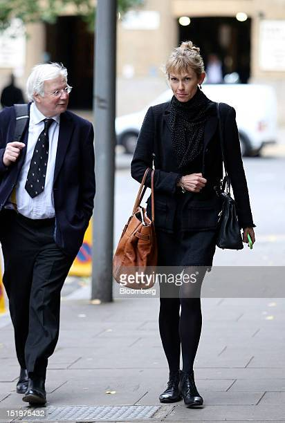 Sasha Wass a prosecutor in the case against a former UBS AG trader right arrives at Southwark Crown Court in London UK on Friday Sept 14 2012 Former...