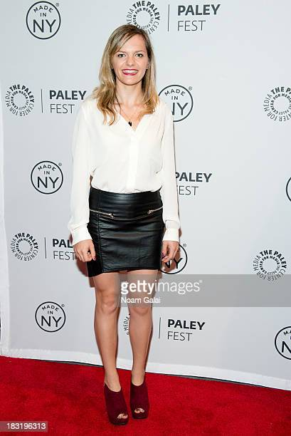Sasha Winters attends the 'The Outs' panel during 2013 PaleyFest Made In New York at The Paley Center for Media on October 5 2013 in New York City