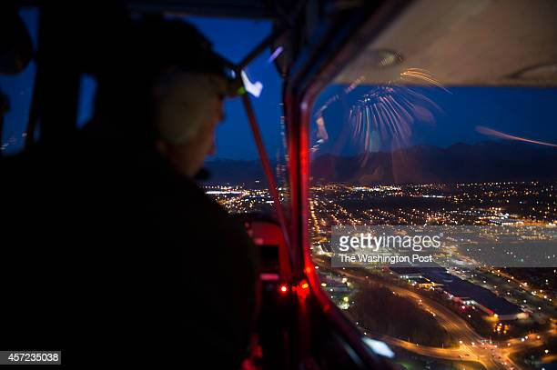 Sasha Zamoruev navigates his approach to Merrill Field Airport in Anchorage Alaska on Wednesday October 1 2014 Pilots die in greater numbers in...