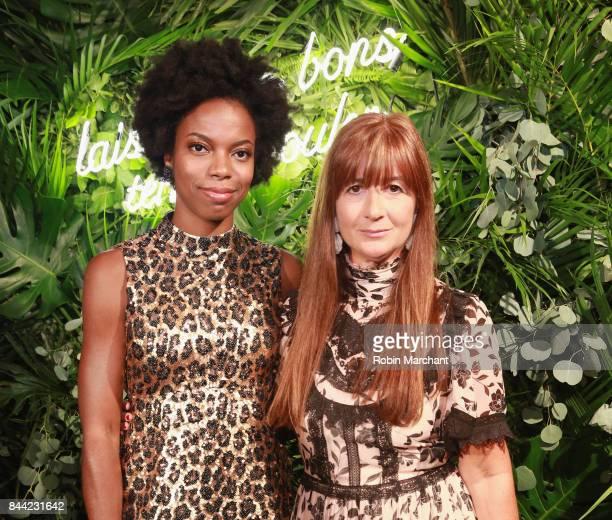 Sasheer Zamata and Deborah Lloyd attend Kate Spade Presentation during New York Fashion Week on September 8 2017 in New York City