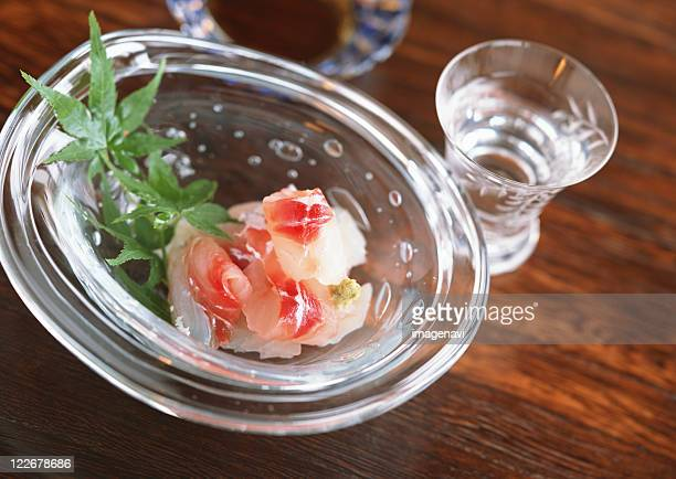 Sashimi of Red Sea Bream