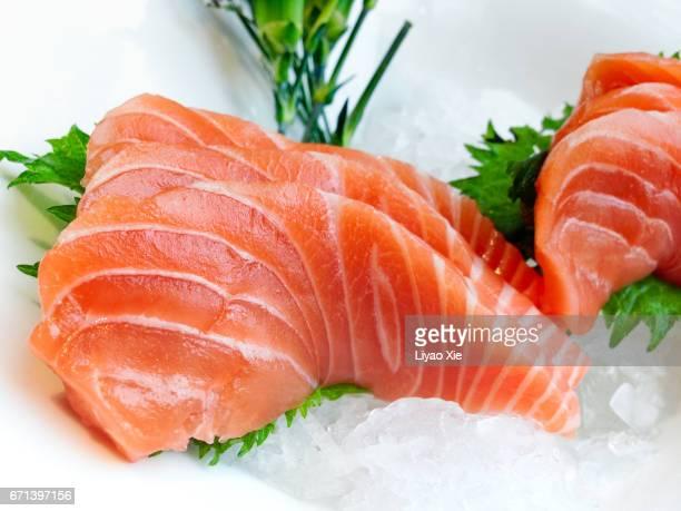 sashimi - redfish stock photos and pictures
