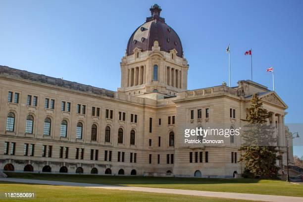 saskatchewan legislative building - parliament building stock pictures, royalty-free photos & images