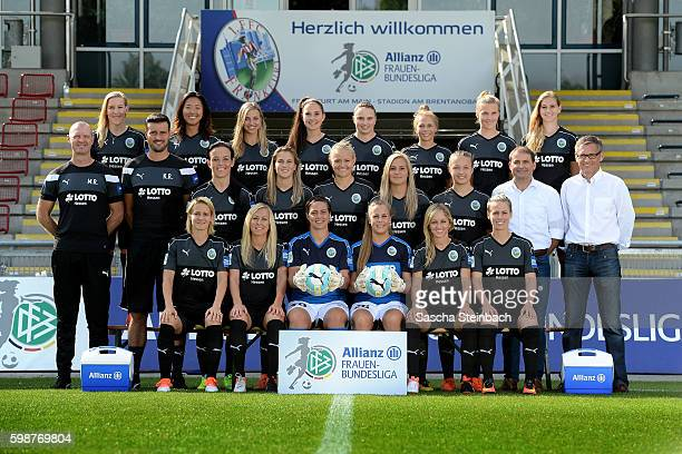 Saskia Bartusiak Mandy Islacker AnneKathrine Kremer Cara Boesl Kathrin Hendrich and Sophie Schmidt Head coach Matt Ross assistant coach Kai Rennich...