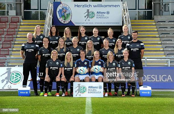Saskia Bartusiak Mandy Islacker AnneKathrine Kremer Cara Boesl Kathrin Hendrich and Sophie Schmidt Head coach Matt Ross Peggy Nietgen AnaMaria...