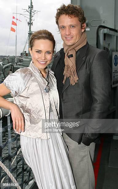 Saskia Burmeister and David Lyons