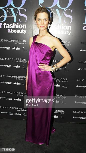 """Saskia Burmeister attends the """"30 Days of Fashion & Beauty"""" Launch Event, launching the month long extravaganza of fashion and beauty hosted by 12 of..."""