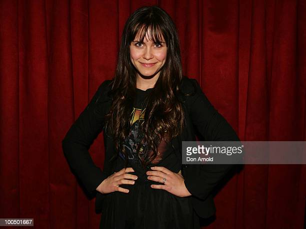 Saskia Burmeister attends the after party for the Time Out Sydney & Inside Film premier of Animal Kingdom at the Fringe Bar Paddington on May 25,...