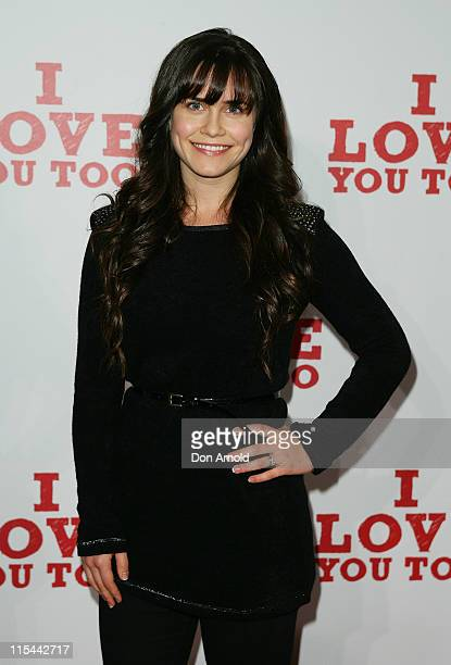 """Saskia Burmeister attends the premiere of """"I Love You Too"""" at Event Cinemas George Street on April 27, 2010 in Sydney, Australia."""