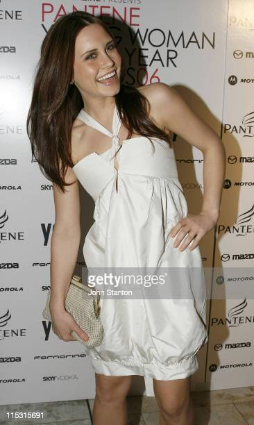 Saskia Burmeister during Pantene Young Woman of the Year Awards 2006 at Town Hall in Sydney, NSW, Australia.