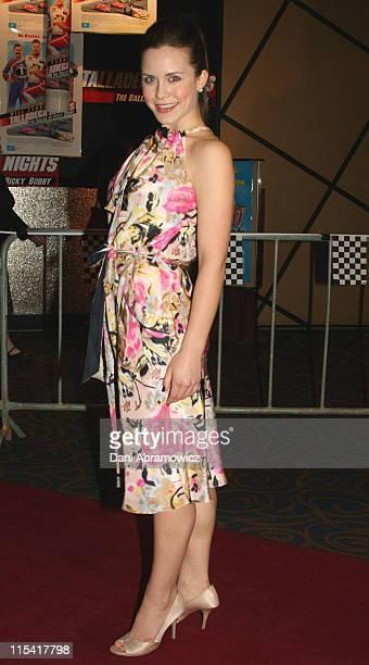 "Saskia Burmeister during ""Talladega Nights: The Ballad of Ricky Bobby"" Sydney Premiere at Greater Union, Geroge Street in Sydney, NSW, Australia."