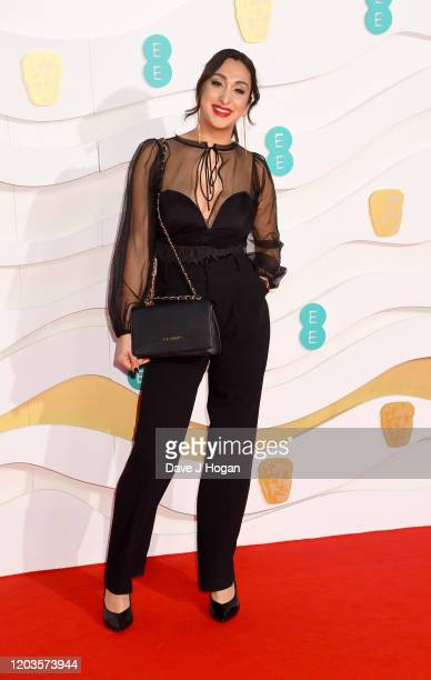 Saskia Chana attends the EE British Academy Film Awards 2020 at Royal Albert Hall on February 02 2020 in London England