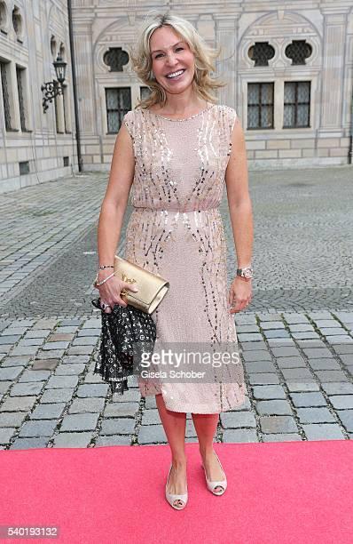 Saskia Greipl during a charity dinner hosted by AMADE Deutschland and Roland Berger Foundation at Kaisersaal der Residenz der Bayerischen...