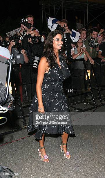 Saskia HowardClarke during Big Brother 6 5th Eviction July 1 2005 at Hyde Park in London Great Britain