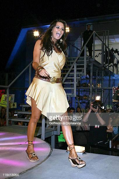 Saskia HowardClarke during Big Brother 6 UK Grand Finale at Elstree Studios in London Great Britain