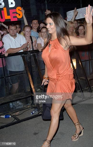 Saskia HowardClarke during Big Brother 6 UK Night 1 Arrivals at Elstree Studios in London Great Britain