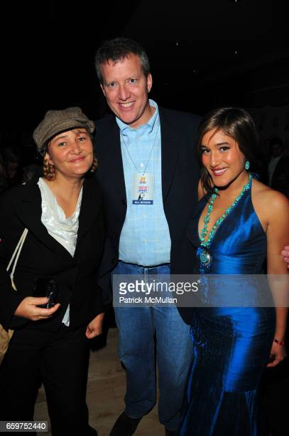 Saskia Kilcher Chris Moore and Q'orianka Kilcher attend HISTORY hosts preview of THE PEOPLE SPEAK at Jazz at Lincon Center Rose theater NYC on...