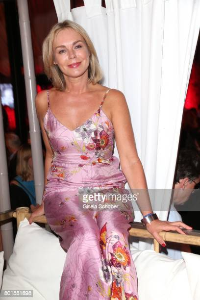 MUNICH GERMANY JUNE 26 Saskia Valencia during the Movie meets Media Party during the Munich Film Festival on June 26 2017 in Munich Germany