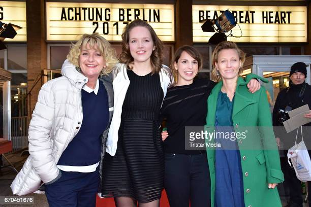 Saskia Vester Luise Brinkmann Caroline Erikson and Lana Cooper attend the Berlin Filmfestival Opening 'Achtung Berlin' With The Movie Beat Beat Heart...