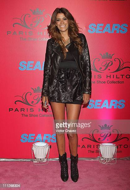 Saskya Vidal attends the Paris Hilton The Shoe Collection cocktail party at Bosque Alto on March 29 2011 in Mexico City Mexico