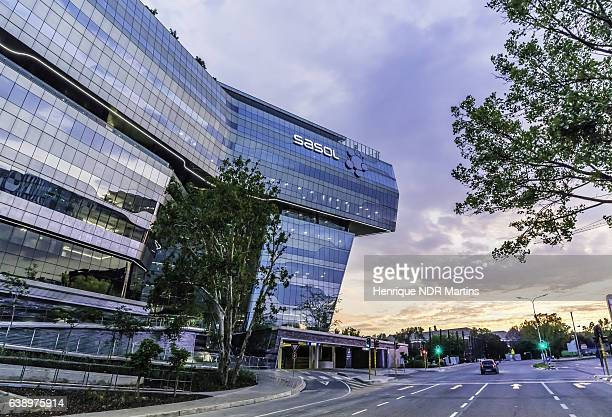 Sasol Office building in Sandton City