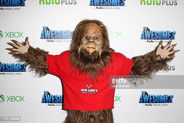 Sasquatch attends The Awesomes VIP AfterParty sponsored by Hulu and Xbox at Andaz on July 20 2013 in San Diego California