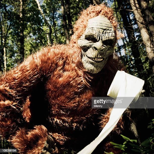 sasquatch, la naturaleza de cortesía. - bigfoot fotografías e imágenes de stock