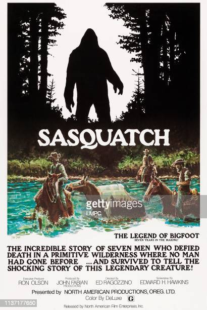 The Legend Of Bigfoot poster US poster art 1977