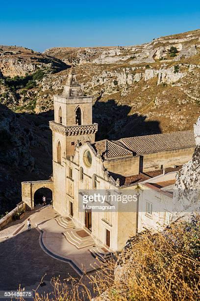 sasso caveoso, church of san pietro caveoso - バシリカータ ストックフォトと画像