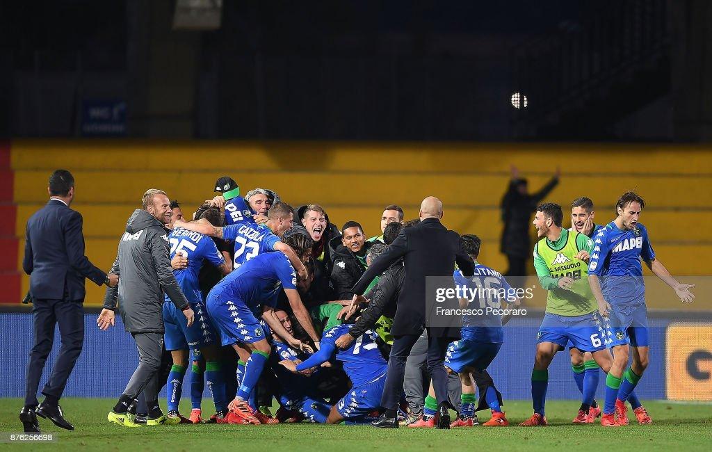 Benevento Calcio v US Sassuolo - Serie A