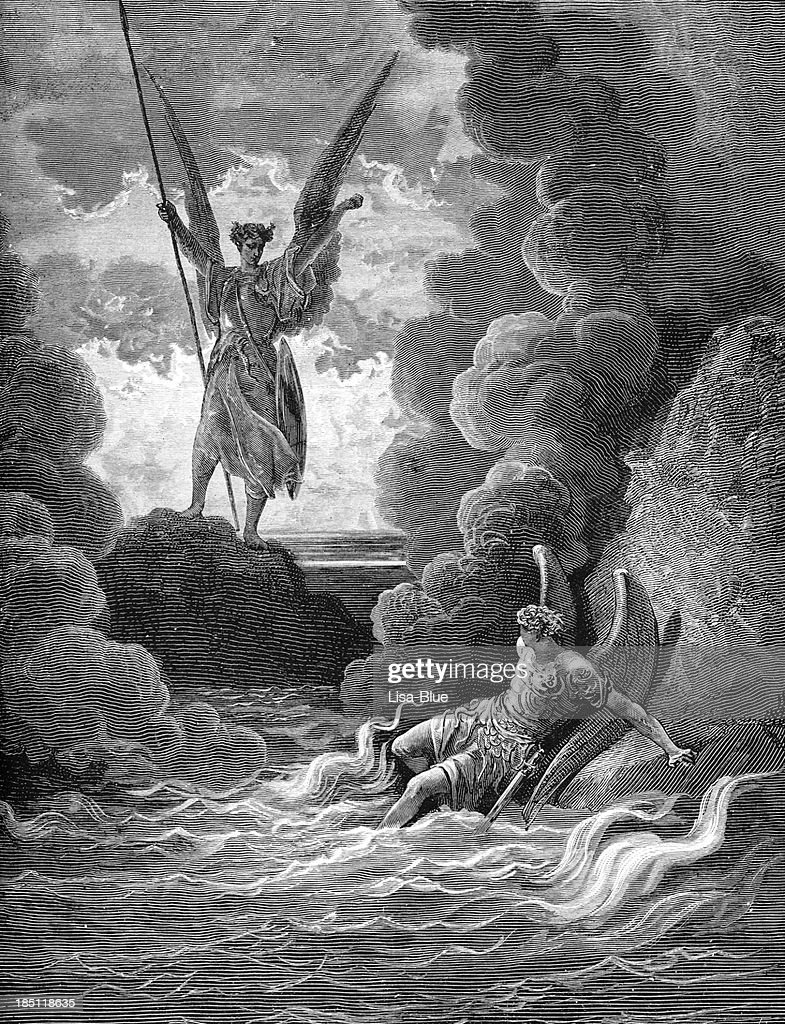 Satan and Beelzebub : Stock Photo