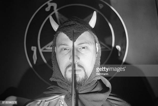 Satan's Church is a Profitable Enterprise The Devilin closeup